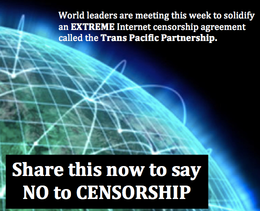 Say NO to Internet Censorship!